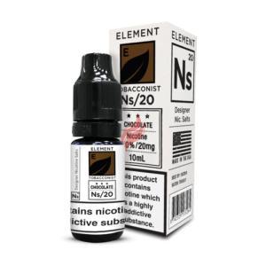 NS/20: Chocolate Tobacco, Nikotinsalt 20mg (10ml)