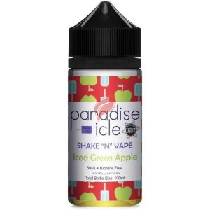 Iced Green Apple från Paradise Icle (50ml, Shortfill)
