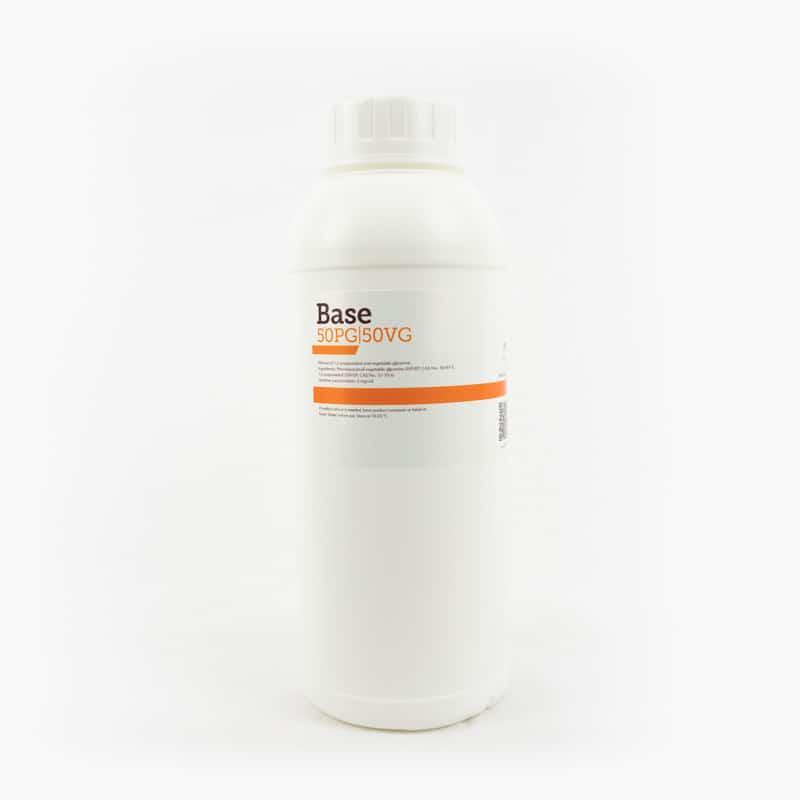 Basvätska VPG (50/50%), 0mg (1000ml) från Chemnovatic