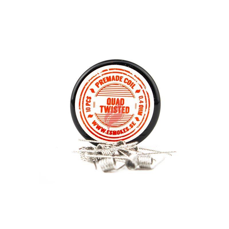 Twisted RBA Coils (10-pack) från eSmokes.se
