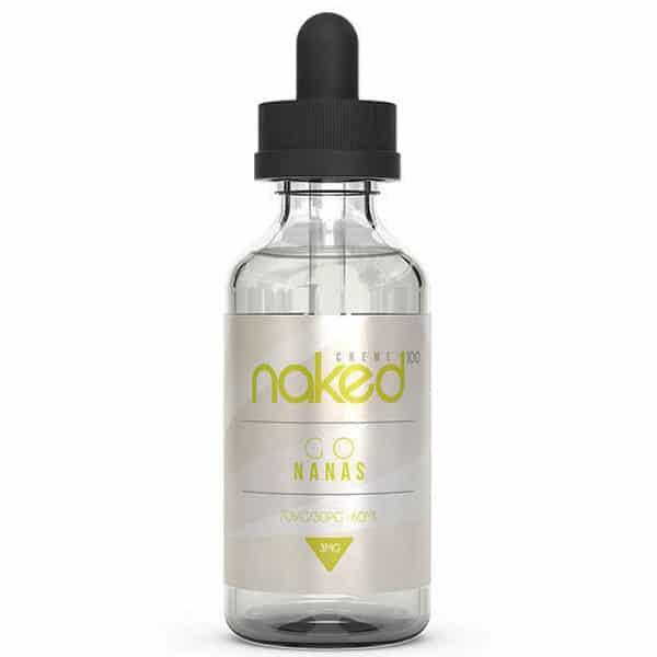 Go Nanas (50ml, Shortfill) från Naked 100