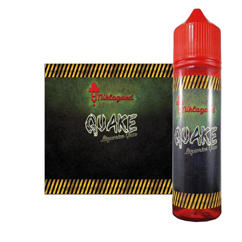 Quake från Niklagard (50ml, Shortfill)