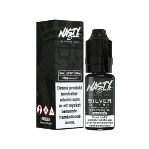 Tobacco Silver Blend från Nasty Juice (10ml, 20mg, Nikotinsalt)