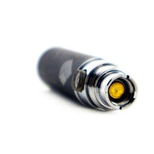 eGo-batteri från Droyp, Svart 450mah liggande framsida