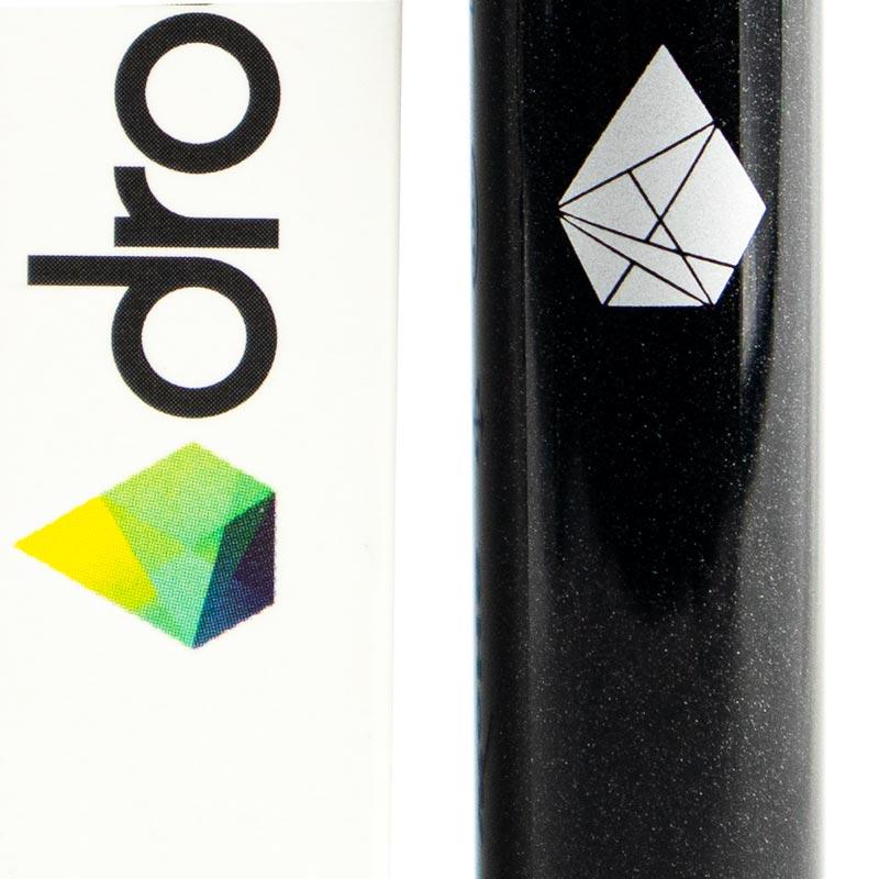 eGo-batteri från Droyp, Svart Constellation närbild
