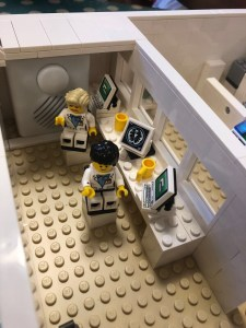 A view of the Lego MRI scanner