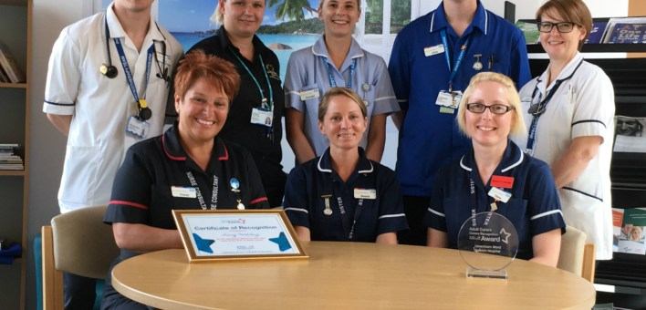 Suffolk Family Carers awards ESNEFT lavenham ward