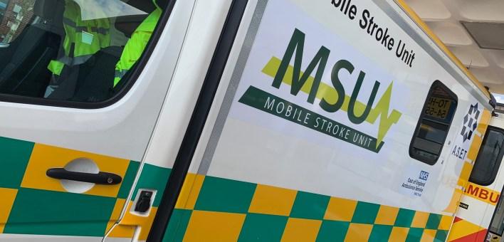 Stroke ambulance - mobile stroke unit