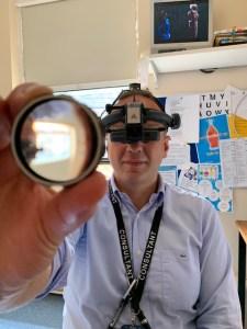Ophthalmologist Vasileios Kostakis