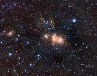 Infrared VISTA view of a stellar nursery in Monoceros*