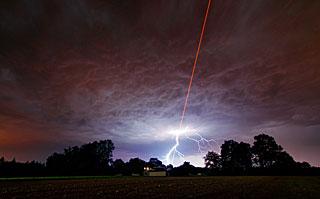 Laser Meets Lightning