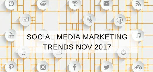 social media marketing trends november december 2017