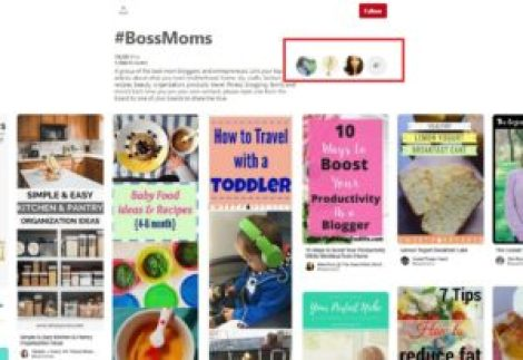 Pinterest for Business Group Boards