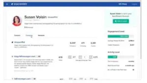 Influencer marketing platform