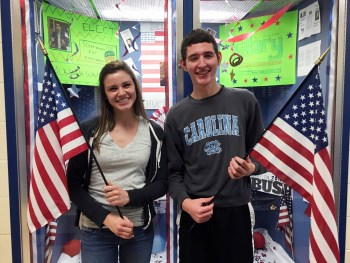 Allie Kemp and Jacob Waller