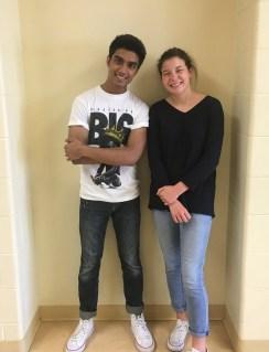 Jeet Shaha and Caroline Bartholomew