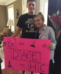 Lydia Elligner and Will Fulmer
