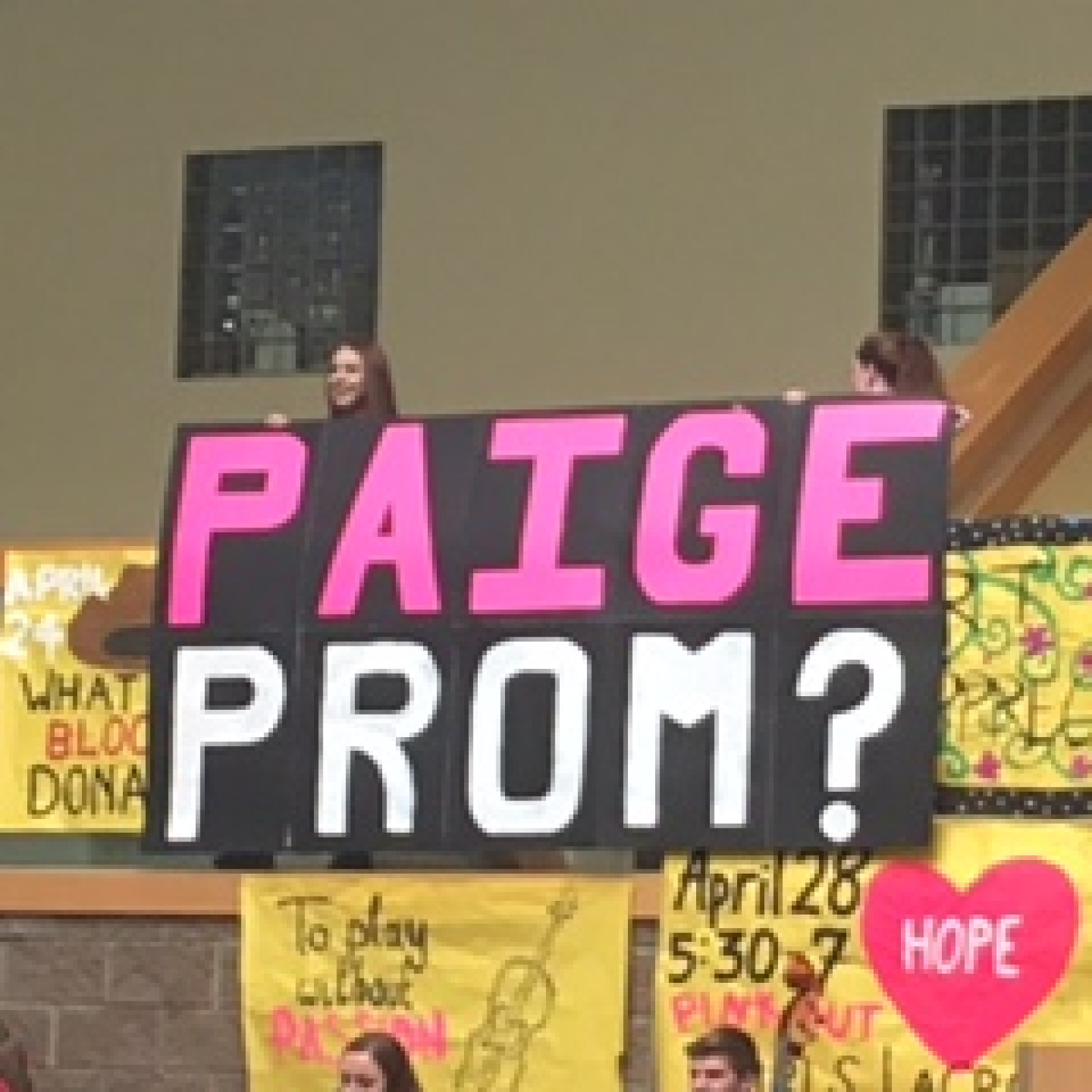 Abby Kitcher and Paige Durham