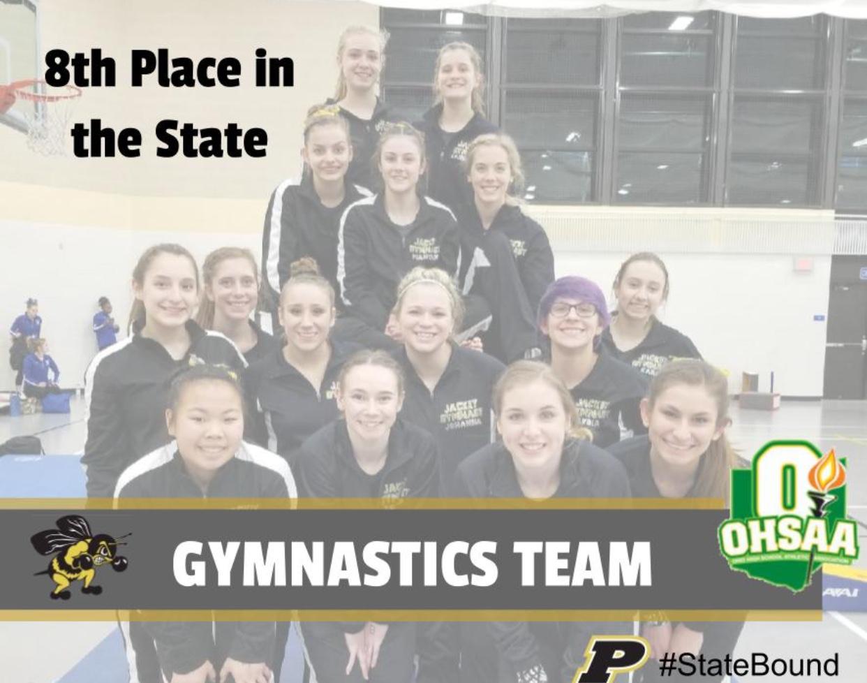 PHS Gymnastics Journey to States
