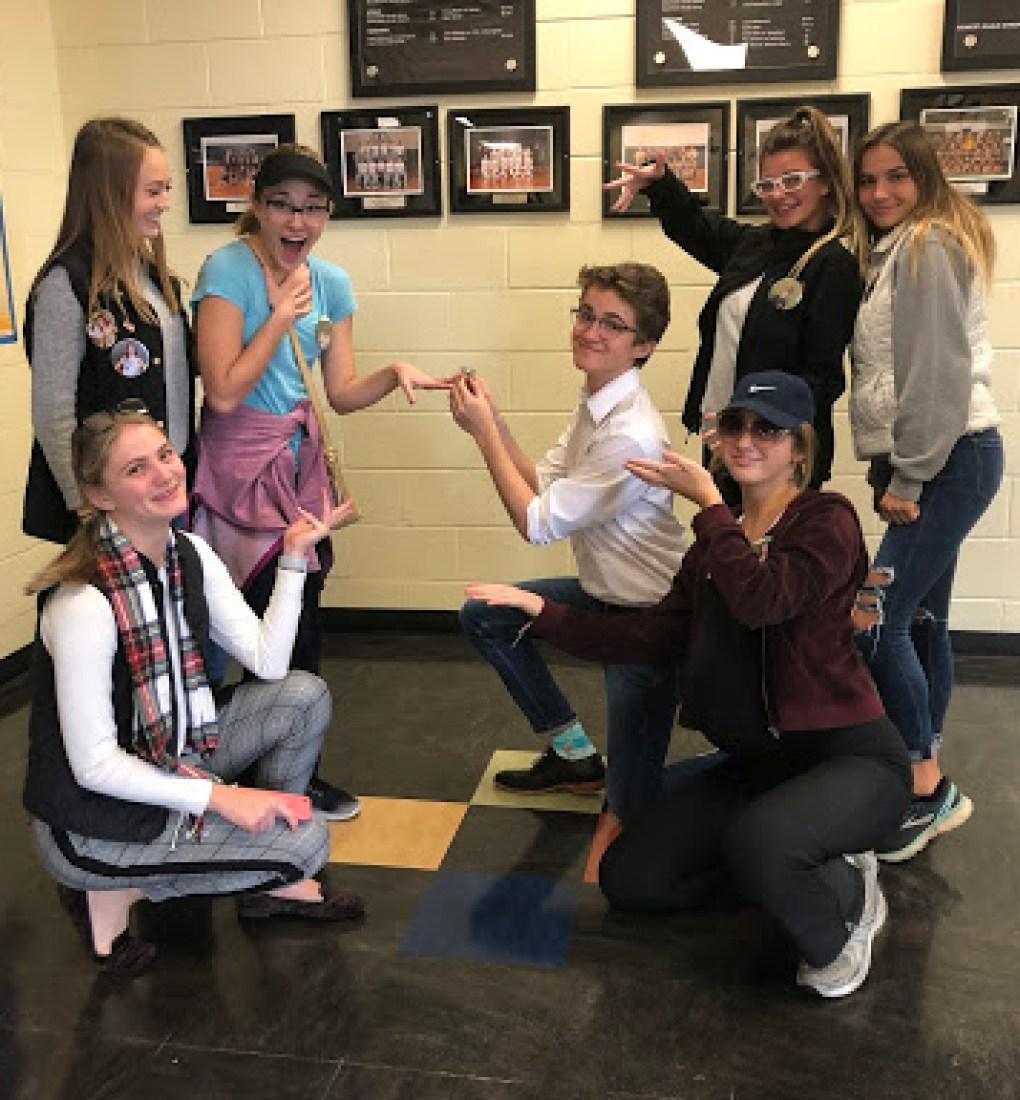 Sophomores Dress For Generation Day