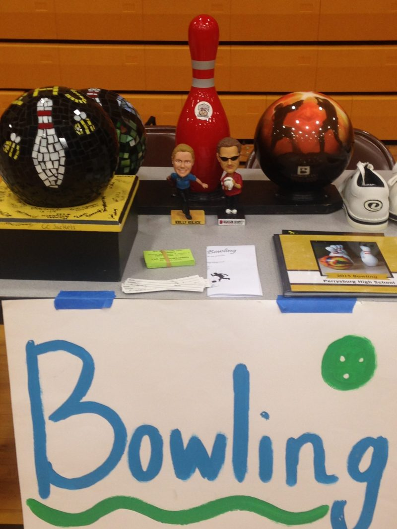Getting kids to sign up for bowling