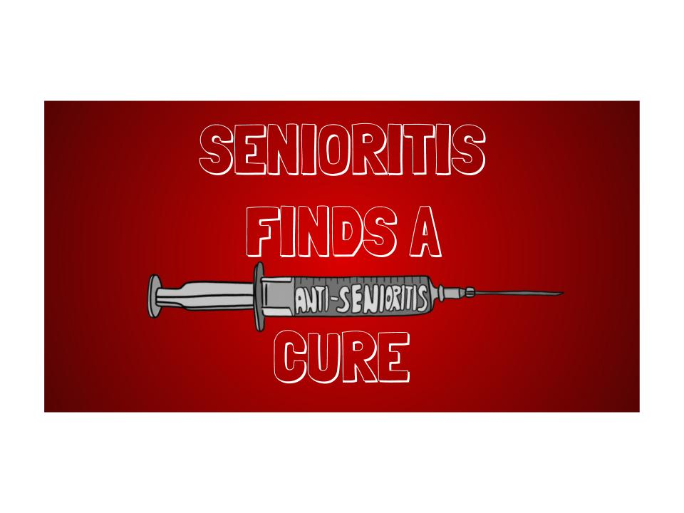 eNothin Report: Ohio Department of Health Finds Cure to Senioritis in Vaccine on April 1st