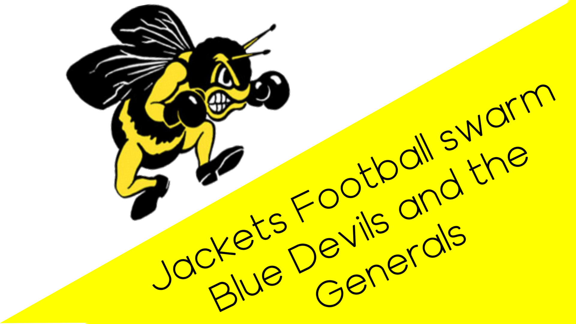 Jackets Football Swarms Blue Devils and Generals