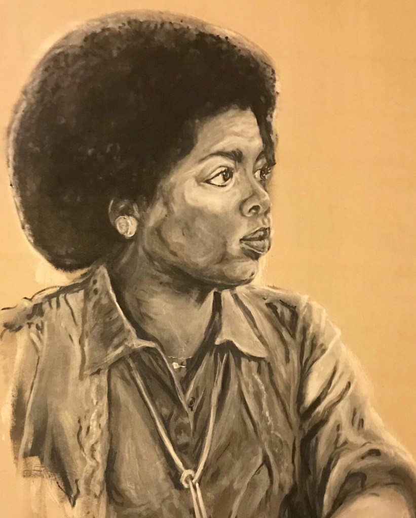 Robert Vanivelt portrait of Oprah Winfrey.