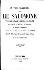 Risultati immagini per chiave di salomone