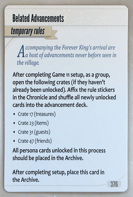 Charterstone Temporary Rule Game 11