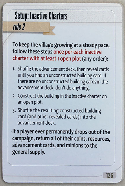 Charterstone Card 126
