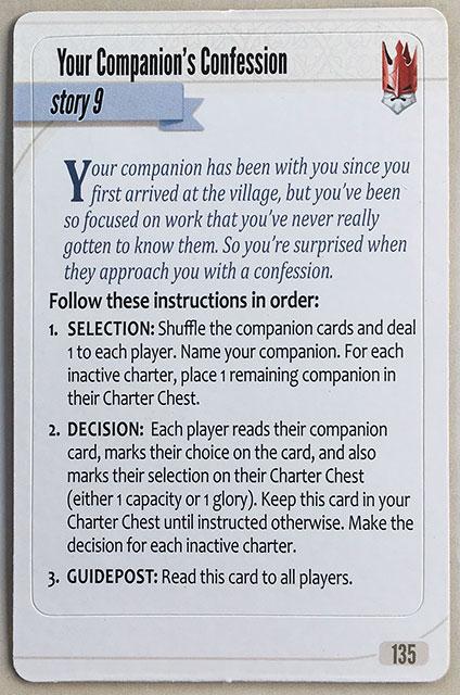 Charterstone Card 135