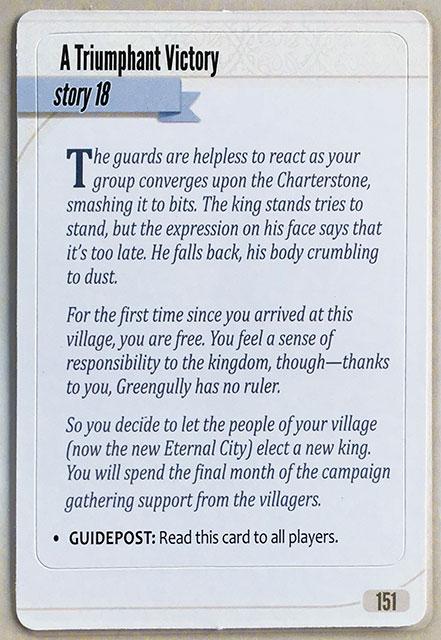 Charterstone Card 151