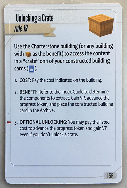 Charterstone Card 156