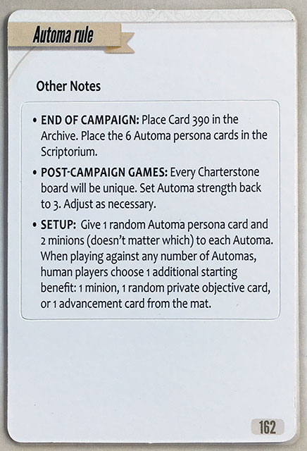 Charterstone Card 162