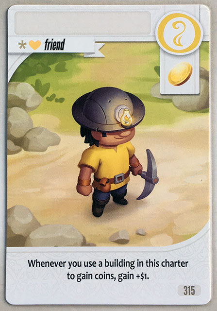 Charterstone Card 315