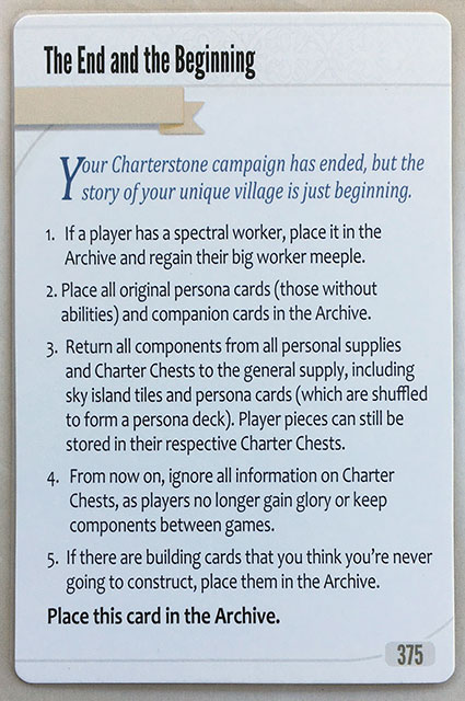 Charterstone Card 375