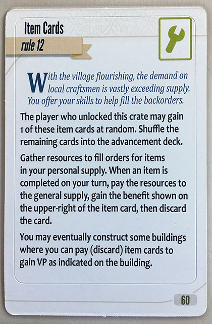 Charterstone Card 60
