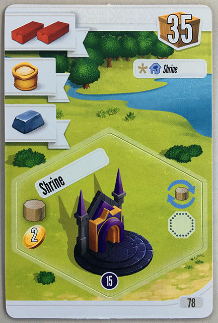 Charterstone Card 78