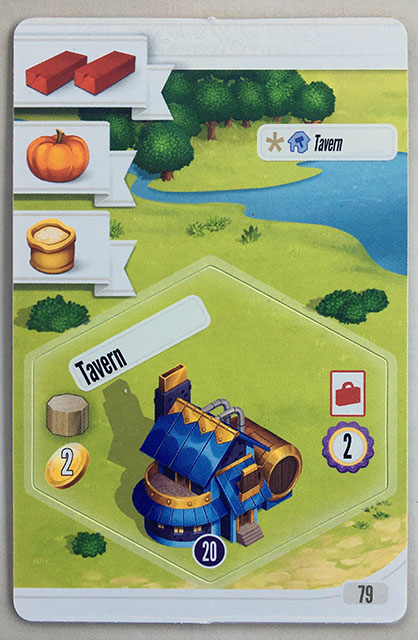 Charterstone Card 79