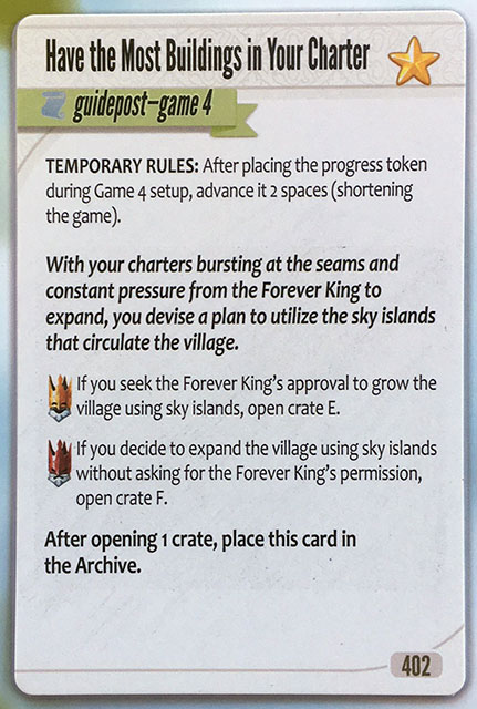 Charterstone Card 402 Revealed