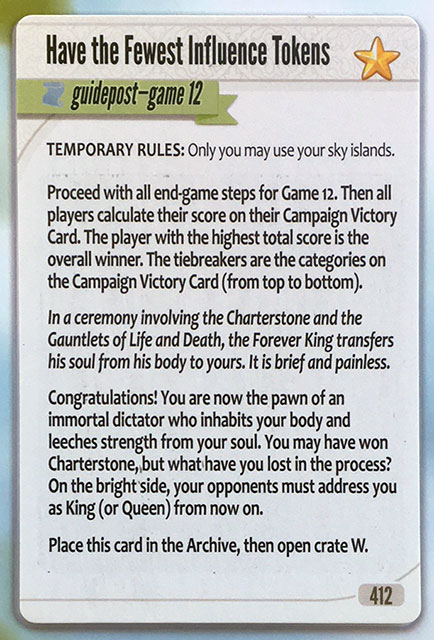 Charterstone Card 412 Revealed