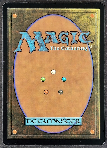 Magic Card Back