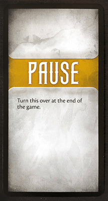 End of Game Card