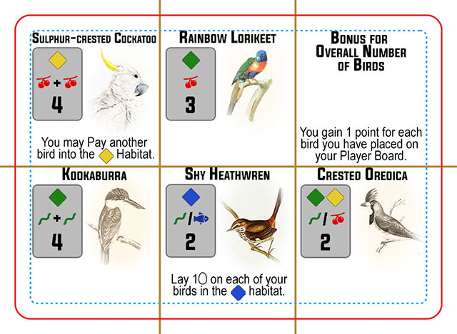 Wingspan Bird Cards