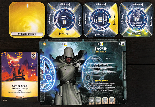 Aeon's End: The New Age - Mage Taqren