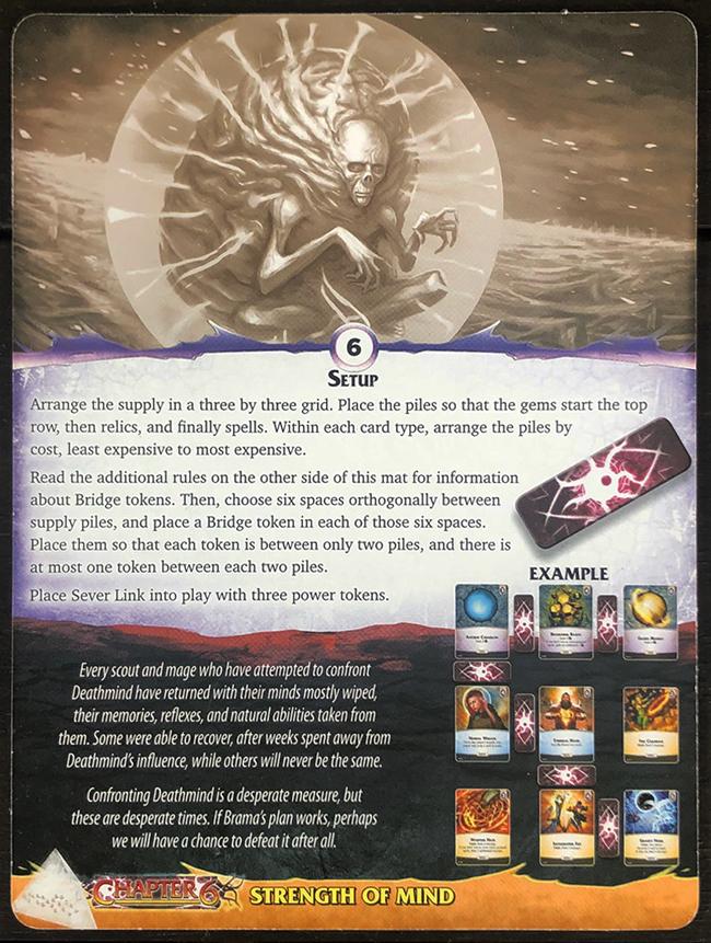 Aeon's End: Legacy - Deathmind Mat Back
