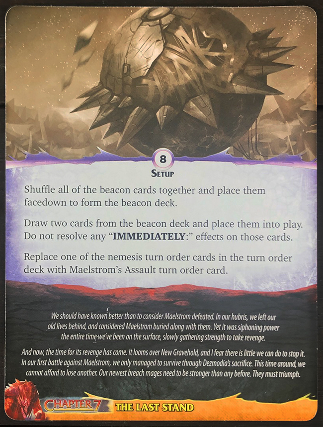 Aeon's End: Legacy - Maelstrom: Risen Mat Back