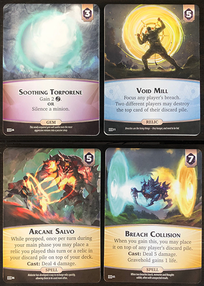 Aeon's End: Legacy - Supply Cards Deck III