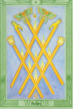 six of wands
